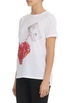 SASS - Tape Deck T-shirt White