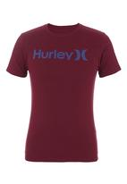 Hurley - One & Only Seasonal T-shirt Red