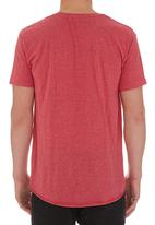 Silent Theory - Basic Pocket Crew Tee Red