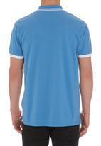 POLO - Crest Polo Pale Blue