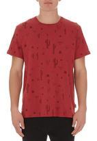 Wrangler - Deserted T-shirt Red