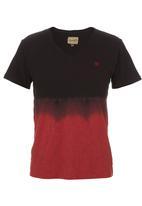 Wrangler - Hippy Block T-shirt Red