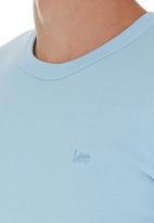 Lee  - Rib T-shirt Pale Blue