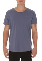 S.P.C.C. - T-Shirt with Embroidery Grey