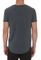 S.P.C.C. - Placement Print T-shirt Grey