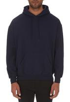 Fruit of the Loom - Hooded sweat Navy