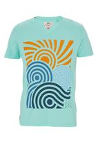 Next - Printed V-neck T-shirt Multi-colour