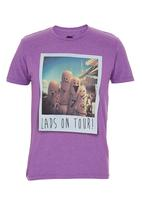 Next - Print T-Shirt Purple