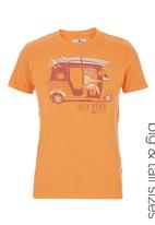 Next - Easy Rider T-Shirt Orange