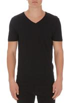 Next - V-neck Tee Black