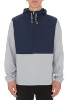 edge - Colourblocked jacket Navy