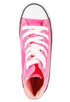 SOVIET - Hi-cut Canvas Sneakers Pink