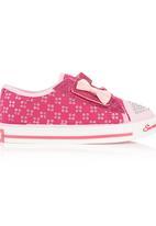 SOVIET - Sequined Sneakers Pink