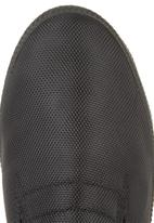 SOVIET - Nylon Low-cut Slip-on Black
