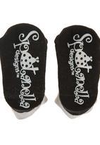 Spotanella - Oh Bouy Socks Grey
