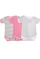 Precioux Baby - 3-pack Babygro Multi-colour