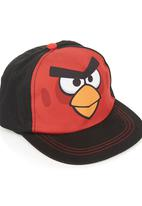 Character Fashion - Angry Birds Flat Bill Cap Black