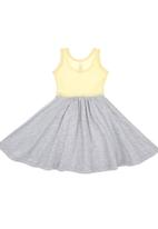 Charlie + Sophie - Colourblock Dress Yellow