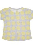 Charlie + Sophie - Spotted T-shirt Yellow