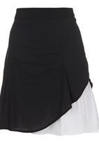 adam&eve; - Carlyle Skirt Black Black and White