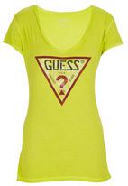 GUESS - Triangle T-shirt Yellow