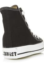 SOVIET - Vulcanized Low-cut Lace-ups - Black