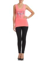 GUESS - Sequin Tank Coral