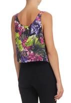 All About Eve - Tropical-print Cami Multi-colour