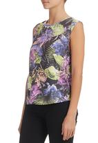 All About Eve - Tropical-print Tank Multi-colour