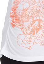GUESS - Tattoo-print Top White