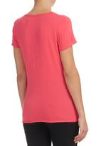 Converse - Converse T-shirt Pink