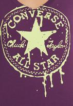 Converse - Converse T-shirt Purple