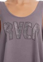 RVCA - Drape Tank Grey
