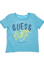GUESS - Guess Branded T-shirt Turquoise