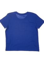 GUESS - Guess Branded T-shirt Blue