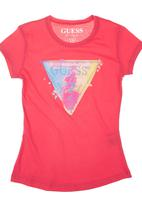 GUESS - Girls Branded T-shirt Pink
