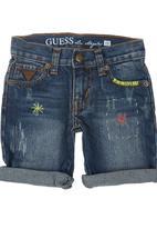 GUESS - Denim Shorts Blue/Black