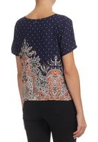 All About Eve - Illusion Top Multi-colour