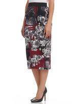 & true - Pencil Skirt Multi-colour
