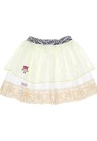 Eco Punk - Lace Frill Skirt Multi-colour