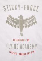 Sticky Fudge - Jeremy T-shirt White