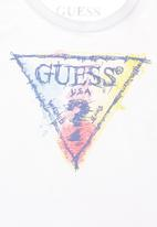 GUESS - Girls Branded T-shirt White