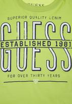 GUESS - Guess Branded T-shirt Green