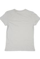 GUESS - T-shirt with Guess Branding Grey