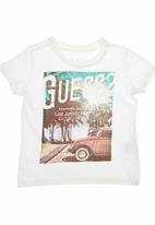 GUESS - T-shirt with Guess Branding Stone