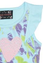 Twin Clothing. - Love T-Shirt Turquoise