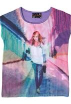Twin Clothing. - Fashion Girl Top Multi-Colour