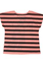 Twin Clothing. - Rock Out Girl Top Coral