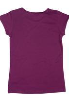 Twin Clothing. - Star-print T-shirt Dark Purple
