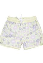 Lazkam Investment - Floral Boardshorts Yellow